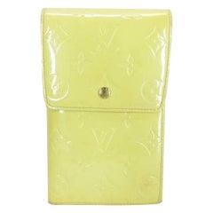 Louis Vuitton Yellow Monogram Vernis Walker 211598