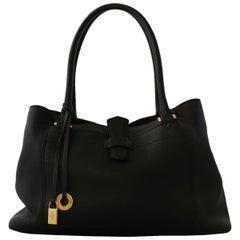 Loro Piana  Bellevue Odessa Black Bag