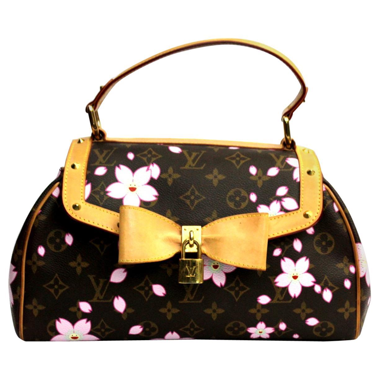 LOUIS VUITTON X TAKASHI MURAKAMI Cherry Blossom Bag