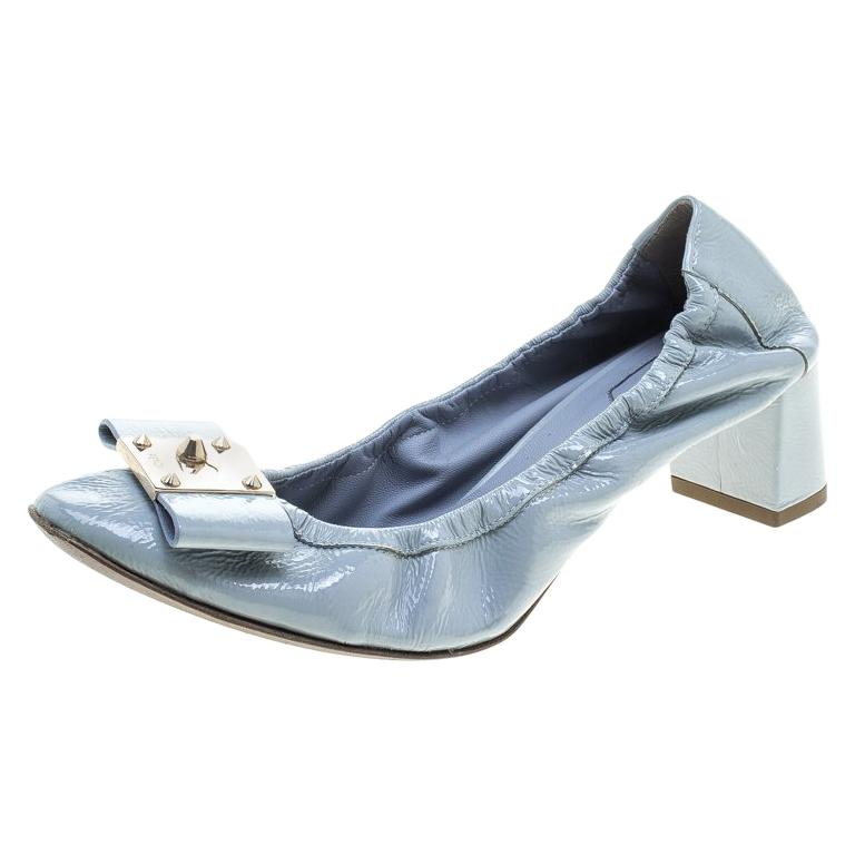 015fba84c21b Fendi Tricolor Leather Faux Pearl Embellished Platform Sandals Size 36 For  Sale at 1stdibs