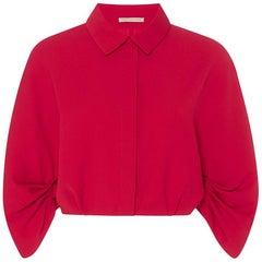 Emilia Wickstead Dana Ruffle Sleeve Shirt
