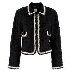 Chanel Runway point-collar tweed jacket US 4