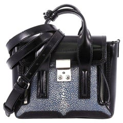 3.1 Phillip Lim Pashli Satchel Stingray and Leather Mini