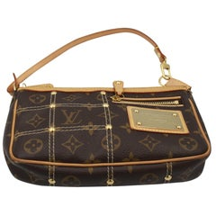 Louis Vuitton Limited Edition Riveting Accesoire Bag / Clutch