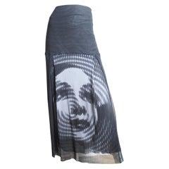 Jean Paul Gaultier Marlene Dietrich Mesh Skirt