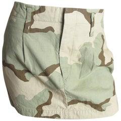 JUNYA WATANABE Camo Mini Skirt, 2005