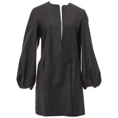New Yves Saint Laurent YSL F/W 2007 Runway Wool Cashmere Coat Sz FR40 U.S 6/8