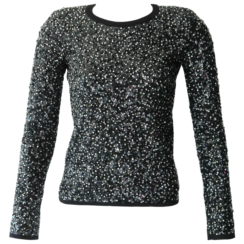 Saint Laurent Beaded Sweater