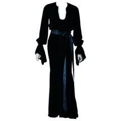 Alexander Vauthier Velvet Dress