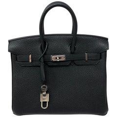 Hermes Black Birkin 25
