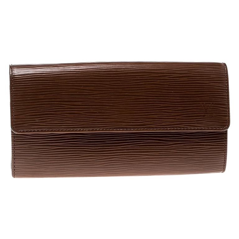 655945adda25 Louis Vuitton Cipango Gold Epi Leather Sarah Wallet For Sale at 1stdibs