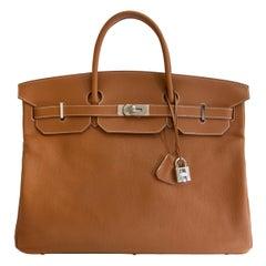 Hermès Birkin 50 Togo Gold PHW