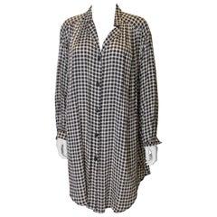 Vintage Roland Klein Silk Overshirt