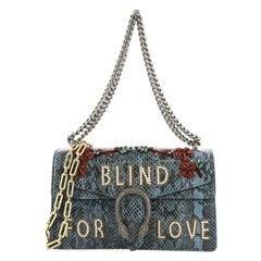 Gucci Dionysus Handbag Embellished Python Small