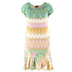 Missoni short-sleeved knit dress US 4