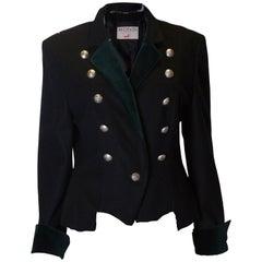 Vintage Mondi Military Style Jacket