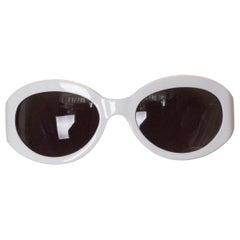 Vintage White Etro Sunglasses