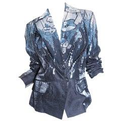 GALLIANO Sequin Jacket