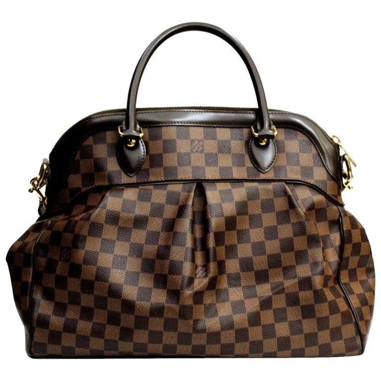 a1806a7a40e8 LOUIS VUITTON Damier Canvas Trevi GM Bag For Sale at 1stdibs
