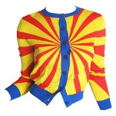 Moschino Couture Bullseye Cardigan
