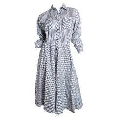 Lanvin gingham dress, 1970s
