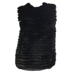 Vera Wang Collection Sleeveless Mink Top