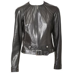 John Galliano for Dior Leather Jacket