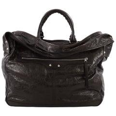 Balenciaga Bridge Classic Studs Handbag Leather