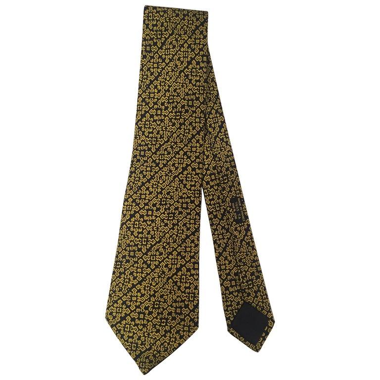 Hermes Silk Tie For Sale