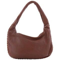Bottega Veneta Zip Hobo Leather Small