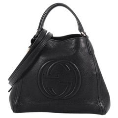 Gucci Soho Convertible Shoulder Bag Leather Small