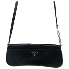 Prada Satin Shoulder Bag/ Clutch