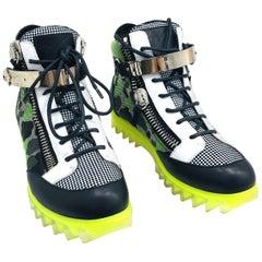 Giuseppe Zanotti Camel Leather Shoes Size 39.5