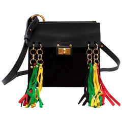 Chloe Jane Tassel Leather Crossbody Bag