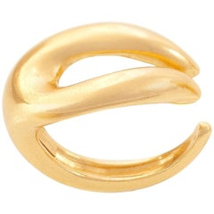 Giulia Barela 24 Karat Gold Plated Bronze Hepworth Ring