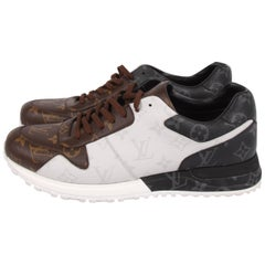 Louis Vuitton Run Away Trainer Sneaker - black/brown/white
