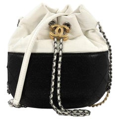 Chanel Gabrielle Drawstring Bag Quilted Calfskin Small