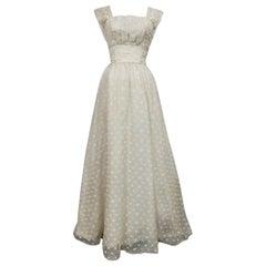 Lanvin CastilloCouture Ball Gown from Baroness de Rothschild circa 1957