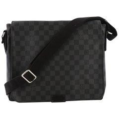 Louis Vuitton District Messenger Bag Damier Graphite MM