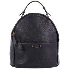 Louis Vuitton Sorbonne Backpack Monogram Empreinte Leather
