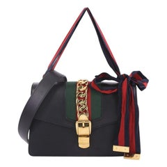 Gucci Sylvie Shoulder Bag Leather Small