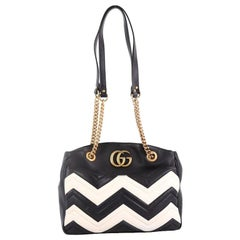 Gucci GG Marmont Chain Tote Matelasse Leather Medium