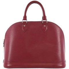 Louis Vuitton Alma Handbag Epi Leather MM