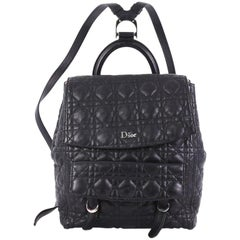 Christian Dior Stardust Backpack Cannage Quilt Leather Large