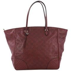 Gucci Bree Tote Guccissima Leather Medium