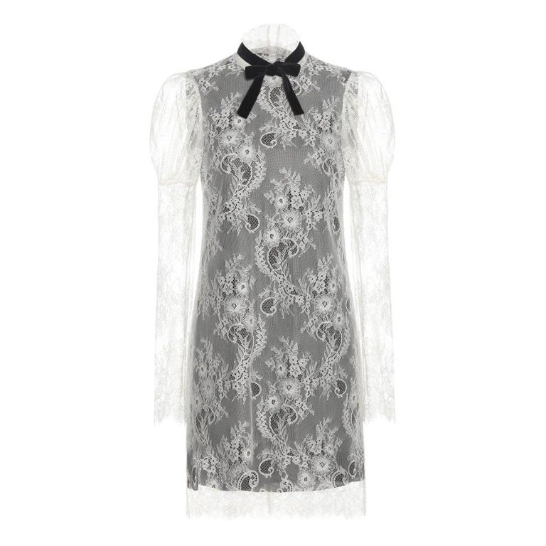 Philosophy di Lorenzo Serafini White Lace Cocktail Dress US 4 For Sale at  1stdibs 1c026717b