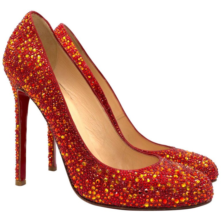 c5ace45cee0 Christian Louboutin Ron Ron 120mm crystal-embellished pumps US 9