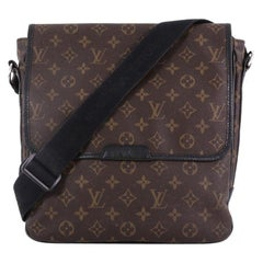 Louis Vuitton Bass Bag Macassar Monogram Canvas MM