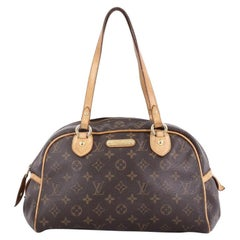 Louis Vuitton Montorgueil Handbag Monogram Canvas PM