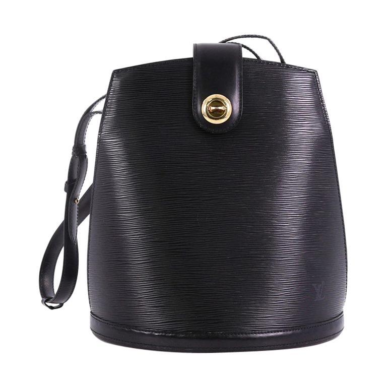 869cb694fc9b Louis Vuitton Cluny Shoulder Bag Epi Leather For Sale at 1stdibs